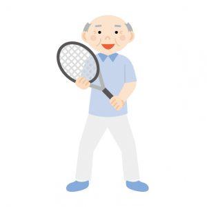 テニスおじいさん