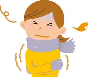 ベンチコートなしの寒さ2