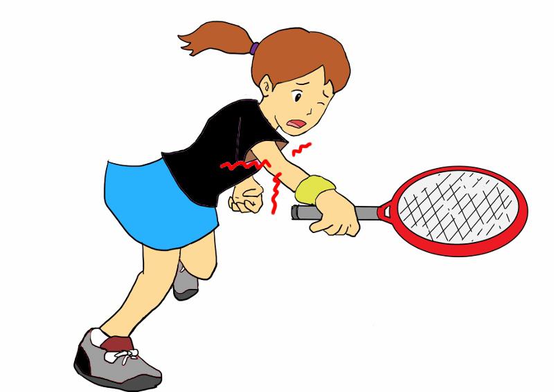 テニス 肘 サポーター