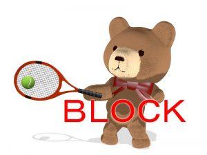 速いサーブへのブロックリターンは2つのポイントを意識しよう!